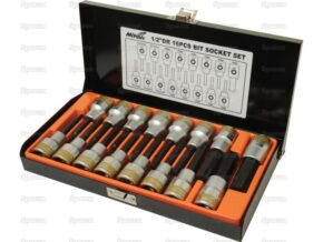 1/2ÍÍ Drive Bit Socket Set (16pcs.) 1