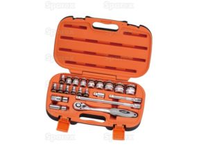 1/2ÍÍ Drive Ratchet Socket Set (21pcs.) 1