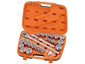 3/4ÍÍ Drive Ratchet Socket Set (26pcs.) 1