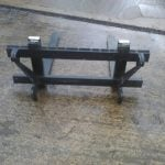 Pallet forks with Euro Hitch 2